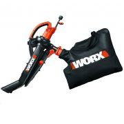 Soprador Aspirador E Triturador de Folhas Worx WG505 220V