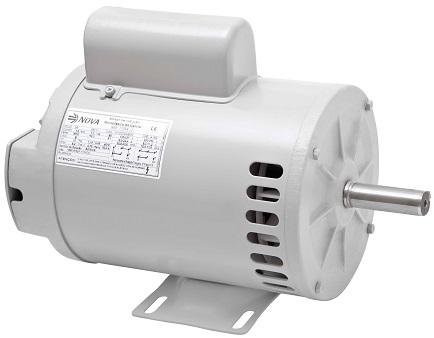 Motor Elétrico Nova 1 cv 4 Pólos Monofásico  - GENSETEC GERADORES