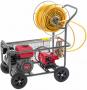 Pulverizador Agricola BBP 3065 com motor de 6.5 hp Branco