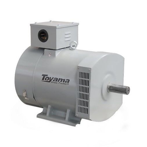Alternador Gerador de Energia Toyama 30 kva Monofásico TA30.0CS2  - GENSETEC GERADORES