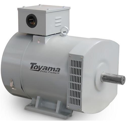 Alternador Gerador de Energia Toyama 7.5 kva Monofásico TA7.5CS2  - GENSETEC GERADORES