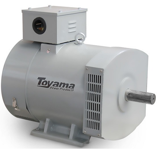 Alternador Gerador de Energia Toyama 8 kva Trifásico TA8CT2  - GENSETEC GERADORES