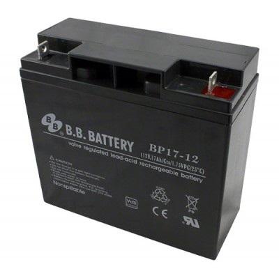 Bateria 12 Volts Gensetec 17A 12V-17AH  - GENSETEC GERADORES