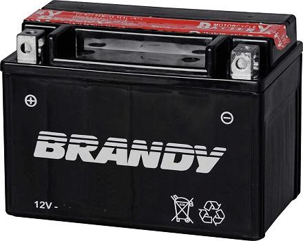 Bateria 12 Volts Brandy 5.5A BY-TZ6L-BS  - GENSETEC GERADORES