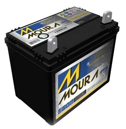 Bateria Para Gerador Toyama Diesel 12V 30A Moura  - GENSETEC GERADORES