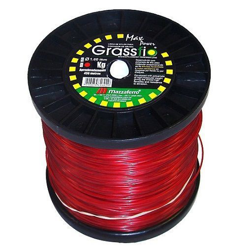 Bobina de Fio de Nylon Para Roçadeira 2mm Redondo 2KG  - GENSETEC GERADORES