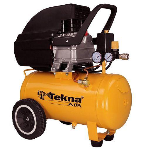 Compressor de Ar Tekna CP8525 24 Litros 110V c/ Kit  - GENSETEC GERADORES