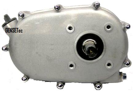 Embreagem com Redução RPM Toyama para motores 5.5 hp 6.5 hp  - GENSETEC GERADORES