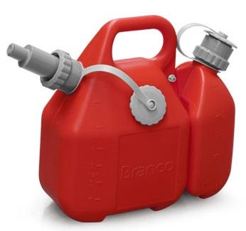 Galão de Combustível Combinado Gasolina Óleo 2 Tempos  - GENSETEC GERADORES