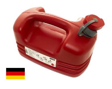 Galão de Combustível 5 Litros Bremen  - GENSETEC GERADORES