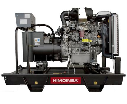 Grupo Gerador Himoinsa Iveco FPT HFW 85 T6B 85 kva   - GENSETEC GERADORES