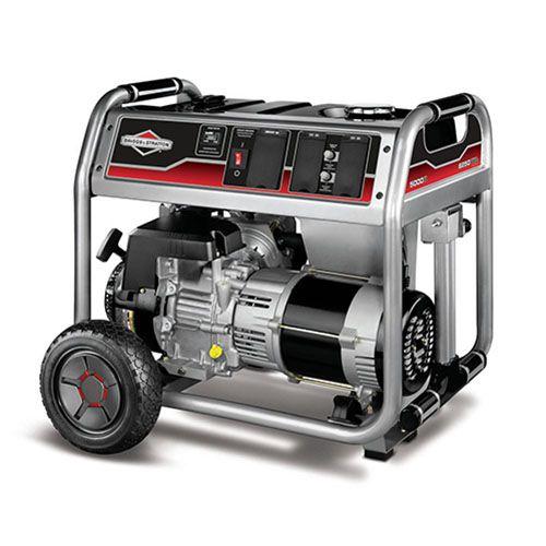 Gerador de Energia Briggs and Stratton 5000 6,25 kva Monofásico  - GENSETEC GERADORES