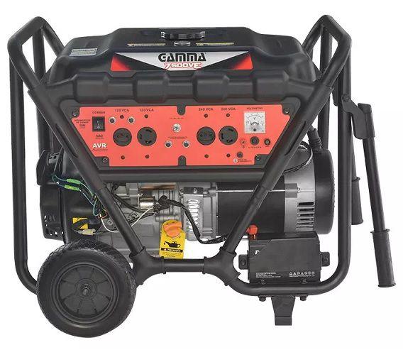 Gerador de Energia Gamma VGE 7500VE 7 kva Monofásico Partida Elétrica  - GENSETEC GERADORES