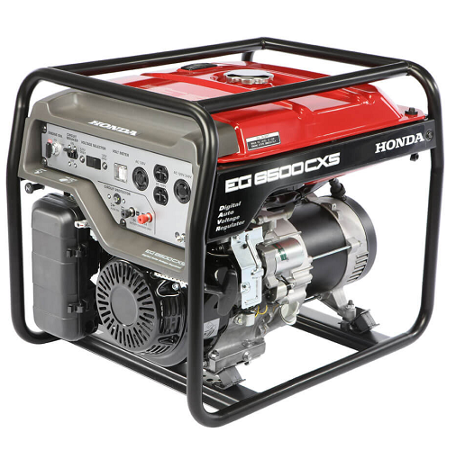 Gerador de Energia Honda EG6500CXS LBH 6.5 kva Partida Elétrica  - GENSETEC GERADORES