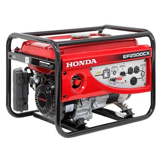 Gerador de Energia Honda EP 2500 CX LBH  2.5 kva Monofásico  - GENSETEC GERADORES