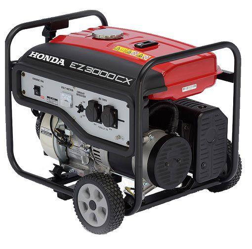 Gerador de Energia Honda EZ3000CX 110V 3 kva Monofásico  - GENSETEC GERADORES