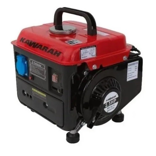 Gerador de Energia Kawarah KGE950 110V 950W Portátil  - GENSETEC GERADORES
