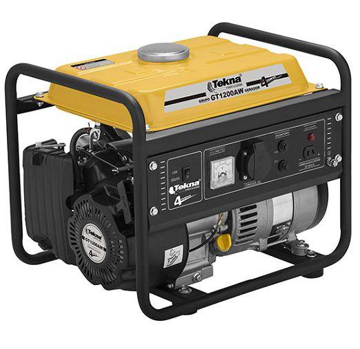 Gerador de Energia Tekna GT1200AW 220V 1 Kva Monofásico  - GENSETEC GERADORES