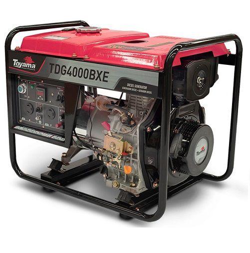 Gerador de Energia Toyama TDG4000BXE 3.3 kva Partida Elétrica  - GENSETEC GERADORES