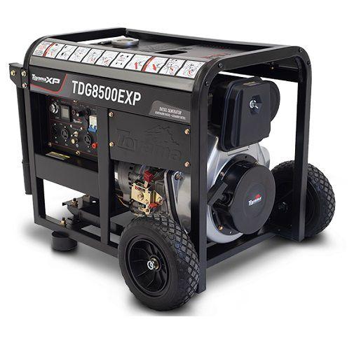 Gerador de Energia Toyama TDG 8500 EXP 7 kva Monofásico  - GENSETEC GERADORES
