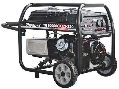 Gerador de Energia Toyama TG10000CXE3 220V 10 kva Trifásico  - GENSETEC GERADORES