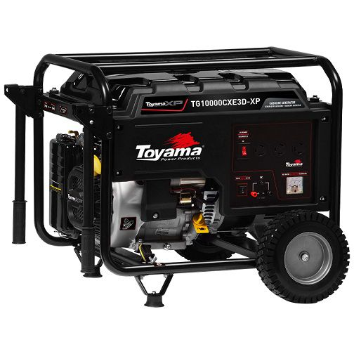 Gerador de Energia Toyama TG10000CXE3D-XP 220V 11 kva Trifásico  - GENSETEC GERADORES