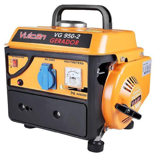 Gerador de Energia Vulcan VG950 220V 950W Portátil  - GENSETEC GERADORES