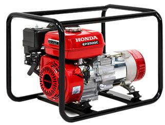 Gerador de Energia Honda EP 2500 CSH 220V  2.5 kva Monofásico  - GENSETEC GERADORES
