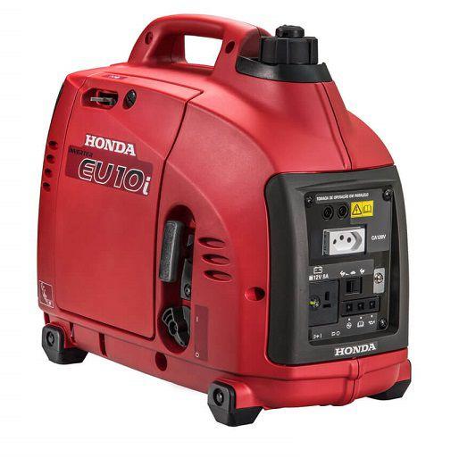 Gerador Inverter Honda EU10I 220V 1kva Portátil Silencioso  - GENSETEC GERADORES