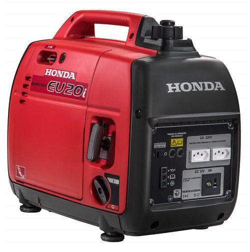Gerador Inverter Honda EU20I 110V 2kva Portátil Silencioso  - GENSETEC GERADORES