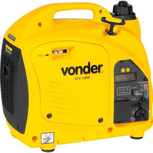 Gerador Inverter Vonder GIV 2000 220V 2kva Portátil Silencioso  - GENSETEC GERADORES