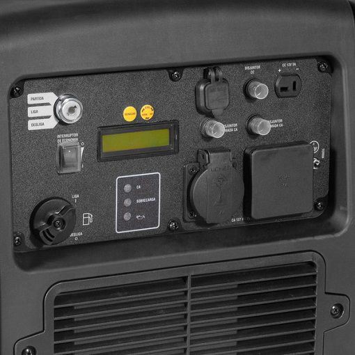 Gerador Inverter Vonder GIV 3200 110V 3kva Silencioso  - GENSETEC GERADORES