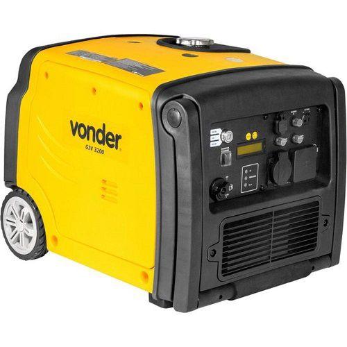 Gerador Inverter Vonder GIV 3200 220V 3kva Silencioso  - GENSETEC GERADORES