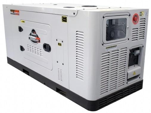 Grupo Gerador de Energia Toyama TD25SGE 25 kva Monofásico  - GENSETEC GERADORES