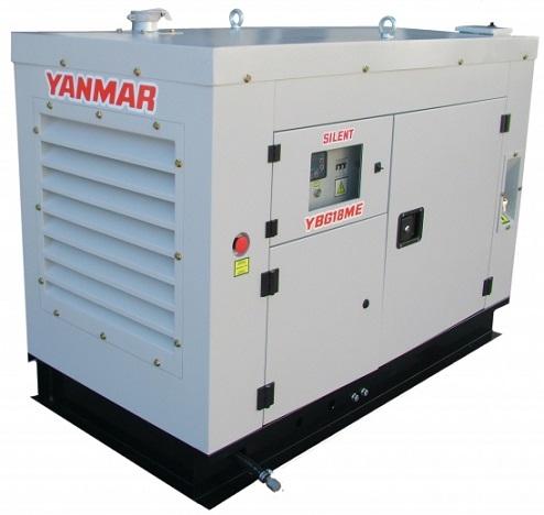 Grupo Gerador de Energia Yanmar YBG30TE 30 kva Silenciado  - GENSETEC GERADORES