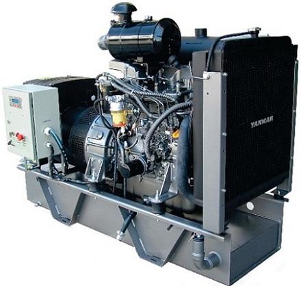 Grupo Gerador de Energia Yanmar YBG55TE 55 kva  - GENSETEC GERADORES