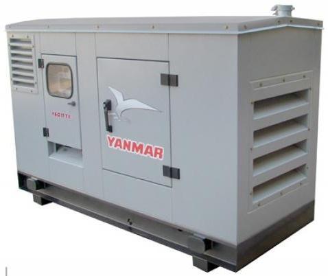 Grupo Gerador de Energia Yanmar YBG22TE 22 kva Silenciado  - GENSETEC GERADORES