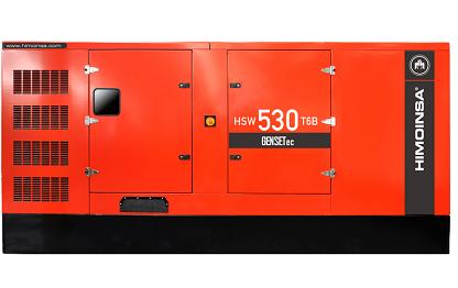 Grupo Gerador Himoinsa Scania HSW 550 T6B 550 kva Silenciado  - GENSETEC GERADORES