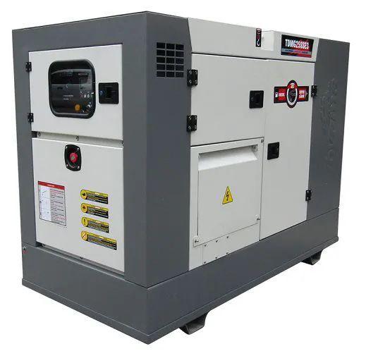 Grupo Gerador de Energia Toyama TDM25SSE3 25 kva Trifásico 220V  - GENSETEC GERADORES