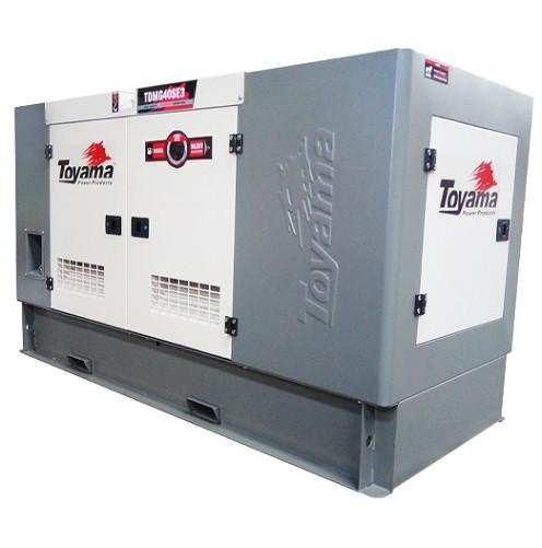 Grupo Gerador de Energia Toyama TDMG40SGE3 40 kva Trifásico 220V  - GENSETEC GERADORES