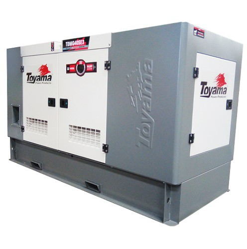 Grupo Gerador de Energia Toyama TDMG40SGE3 40 kva Trifásico 380V  - GENSETEC GERADORES