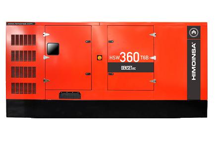 Grupo Gerador Himoinsa Scania HSW 365 T6B 365 kva Silenciado  - GENSETEC GERADORES