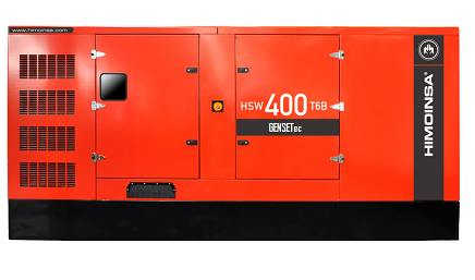 Grupo Gerador Himoinsa Scania HSW 410 T6B 410 kva Silenciado  - GENSETEC GERADORES