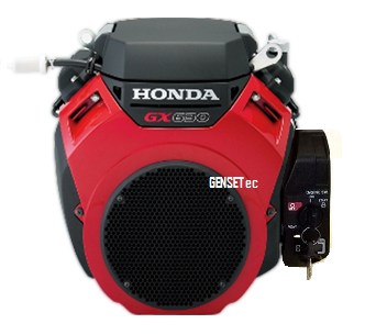 Motor Gasolina Honda GX630 RH QXF 22hp - Alerta de Óleo  - GENSETEC GERADORES