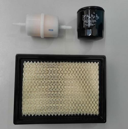 Kit Filtros de Ar Oleo e Combustível TG12000CXE Toyama  - GENSETEC GERADORES