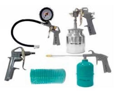 Kit Para Compressor de Ar Stels 5 Peças  - GENSETEC GERADORES