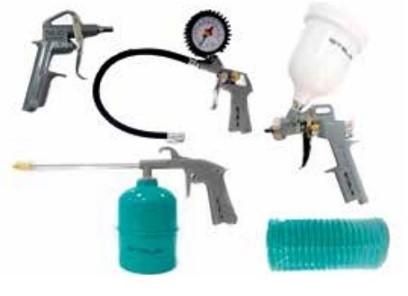 Kit Para Compressor de Ar Stels 5 Peças - Gravidade  - GENSETEC GERADORES