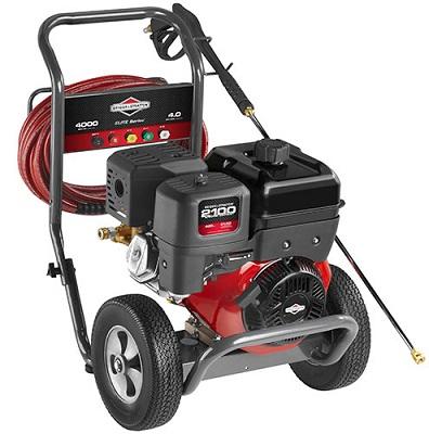 Lavadora de Alta Pressão a Gasolina Briggs 4000 psi  - GENSETEC GERADORES