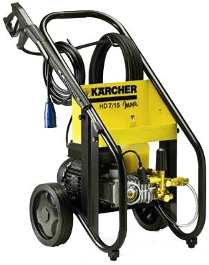 Lavadora de Alta Pressão Karcher HD 7/15 220V  - GENSETEC GERADORES