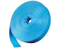 Mangueira Flexível 4 Polegadas PVC Azul 25 Metros  - GENSETEC GERADORES